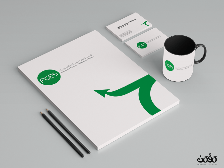 fces logo branding corporate identity momenarts