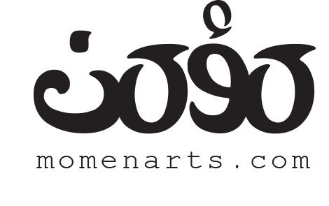 momenarts arabic typography logo