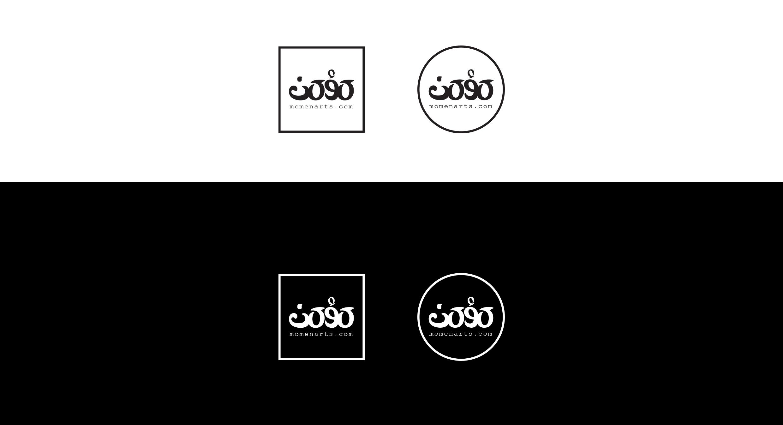 momenarts logo design variations