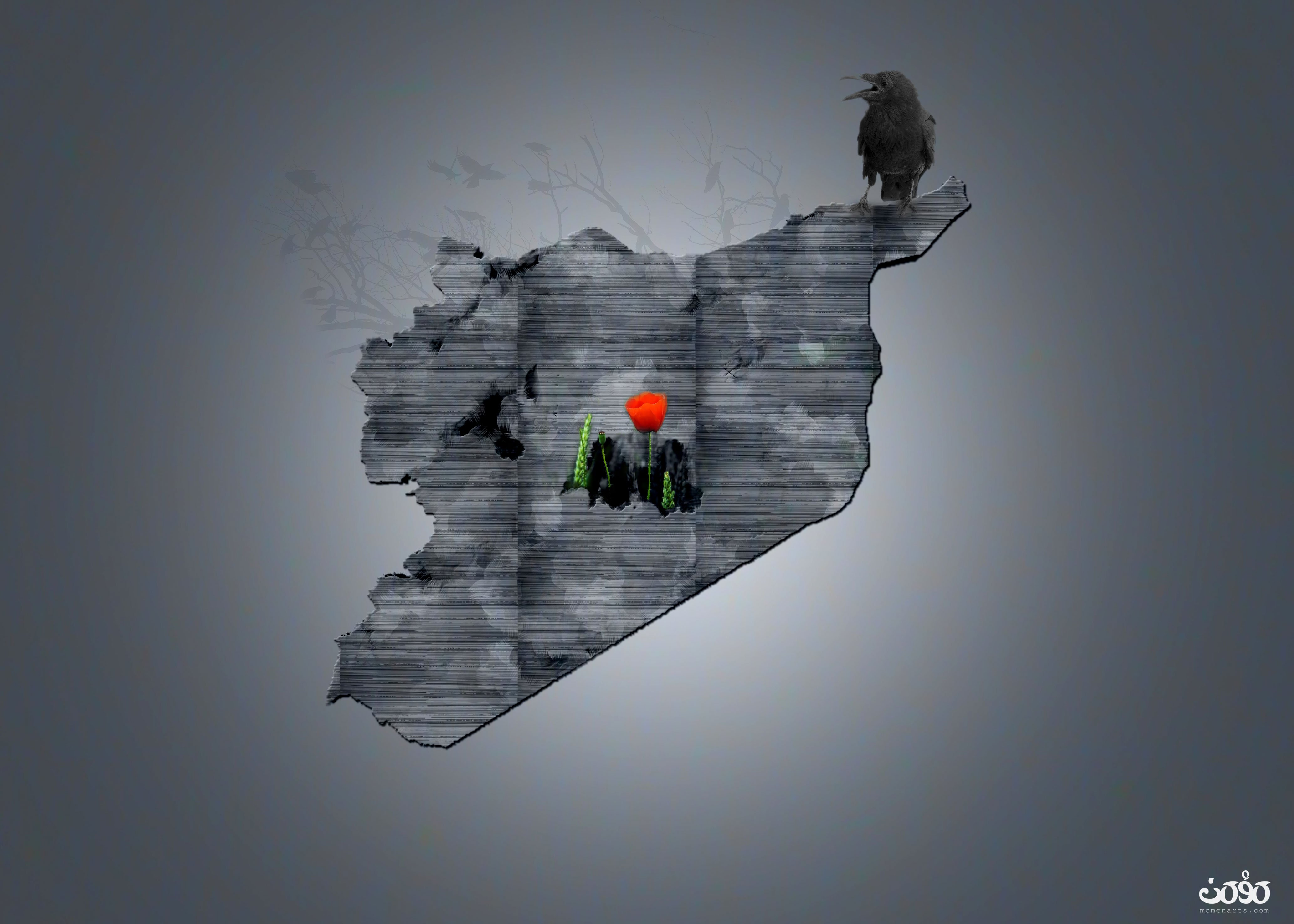 syria poster momenarts