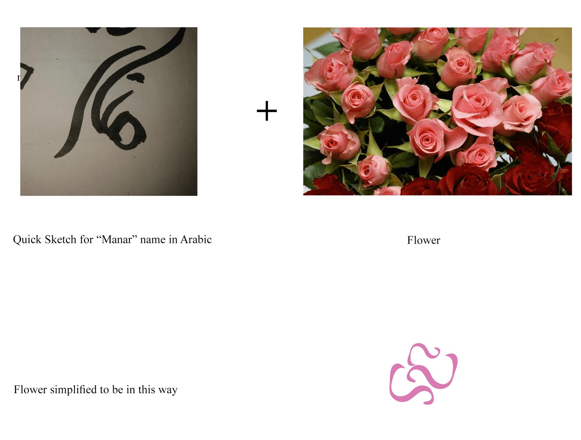 manar hammadi logo inspiration