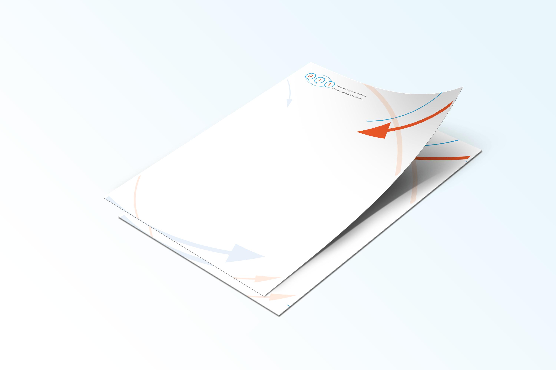 pit logo printed letterhead