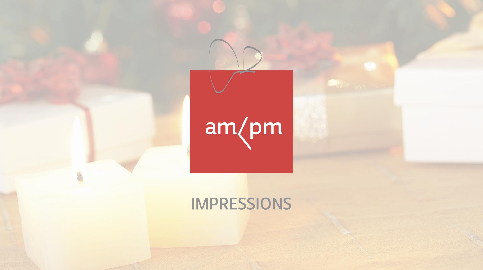 am pm impressions logo design by momenarts