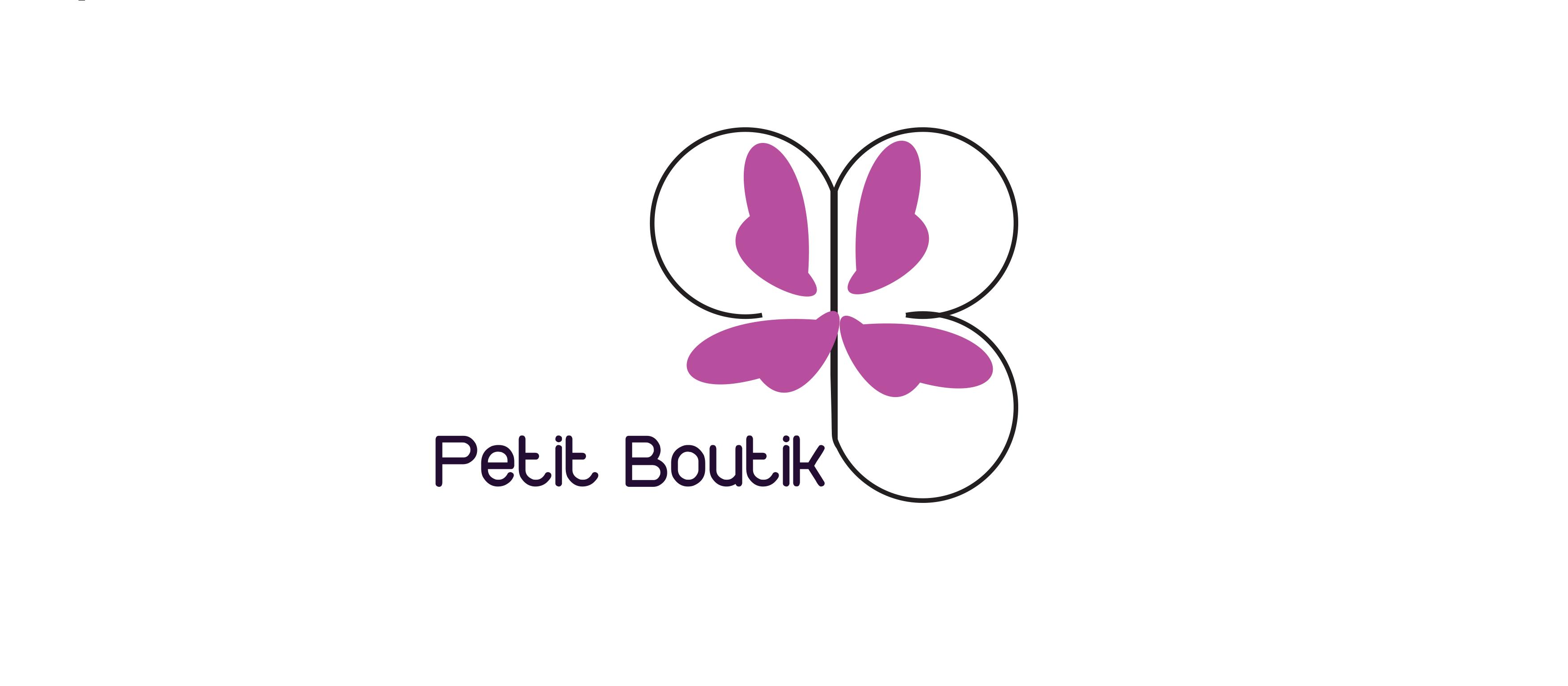 petit boutik logo design v1 momenarts