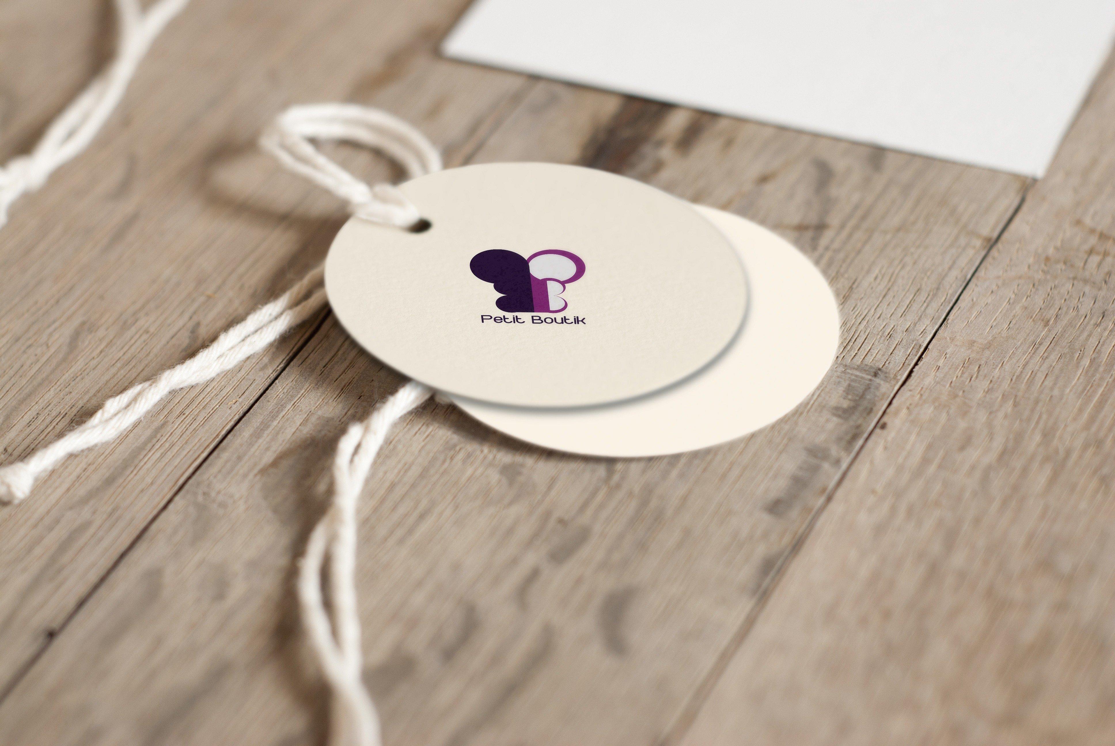 petit boutik logo label v2 by momenarts