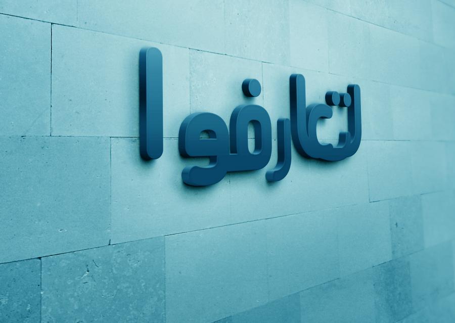 litaearafuu 3d logo wall momenarts