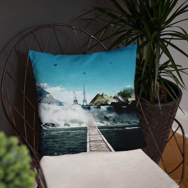 I want to go where I want -Basic Pillow -10
