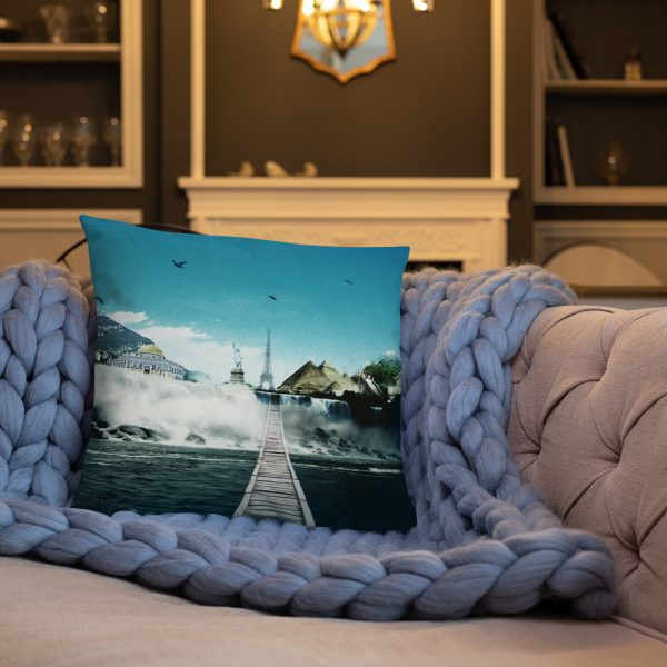 I want to go where I want -Basic Pillow -3