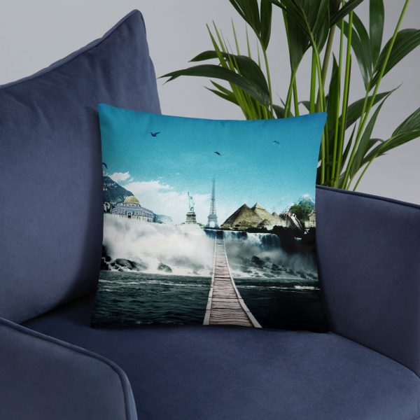 I want to go where I want -Basic Pillow -6