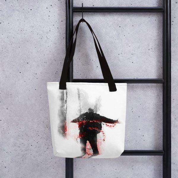 An inspiration moment -Tote bag-black