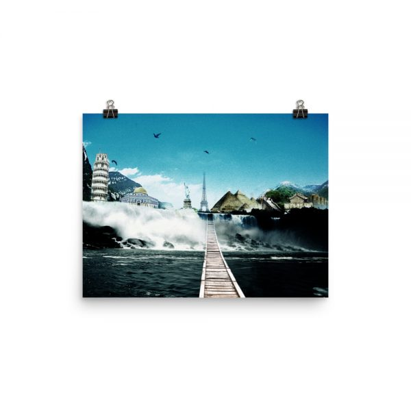 I want to go where I want -Photo paper poster-04