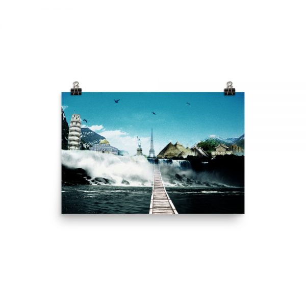 I want to go where I want -Photo paper poster-06