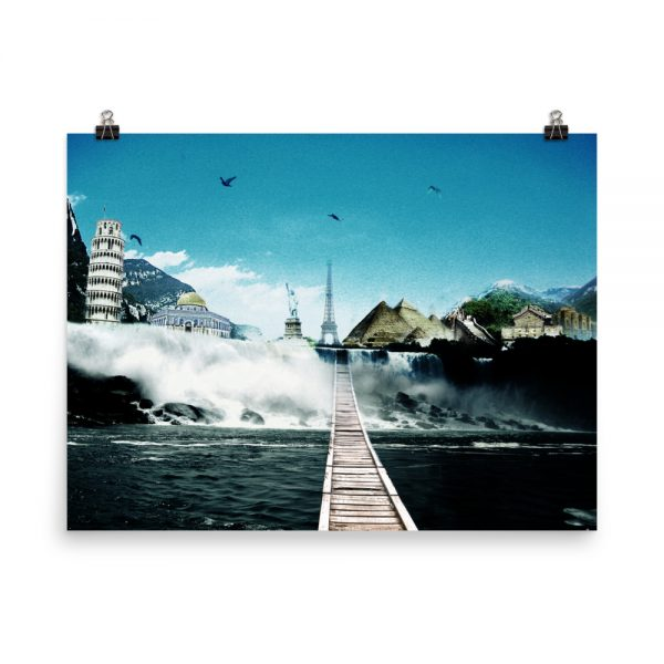 I want to go where I want -Photo paper poster-10