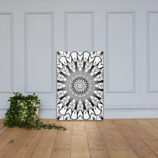 pattern mandala 01 – Poster – Canvas-01