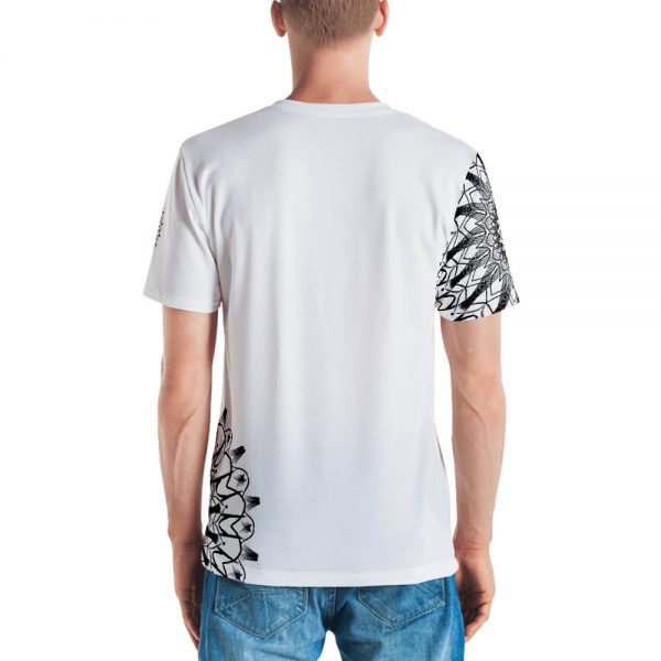 pattern mandala 01 - all over print Men's T-shirt - 3