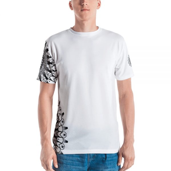 pattern mandala 01 - all over print Men's T-shirt - 4