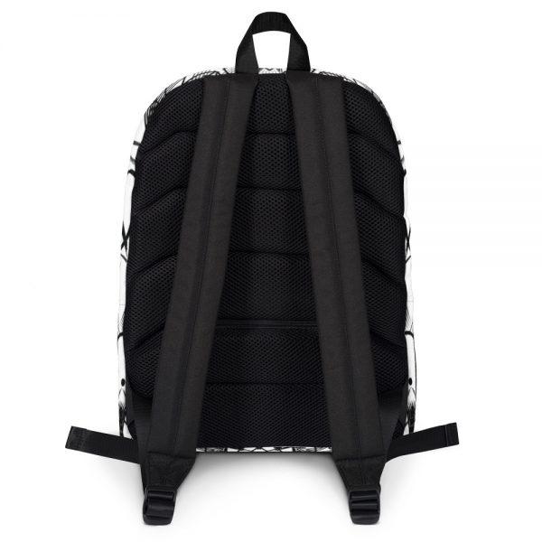 pattern mandala 01 -Backpack-black-on-white-02