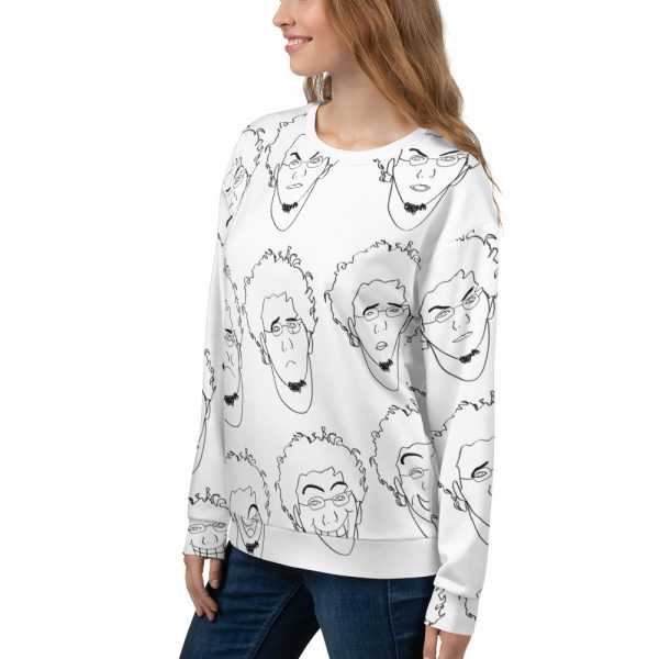 Some of Facial Expressions – Unisex Sweatshirt-momenarts-store-left