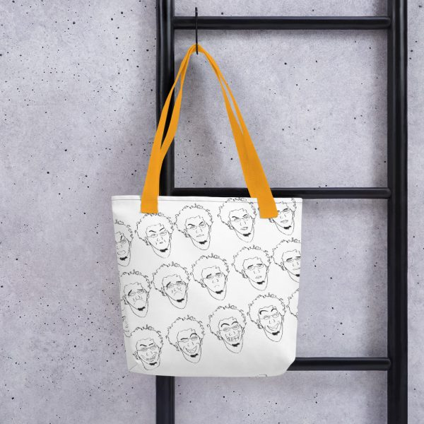 Some of Facial Expressions - Tote bag - Yellow