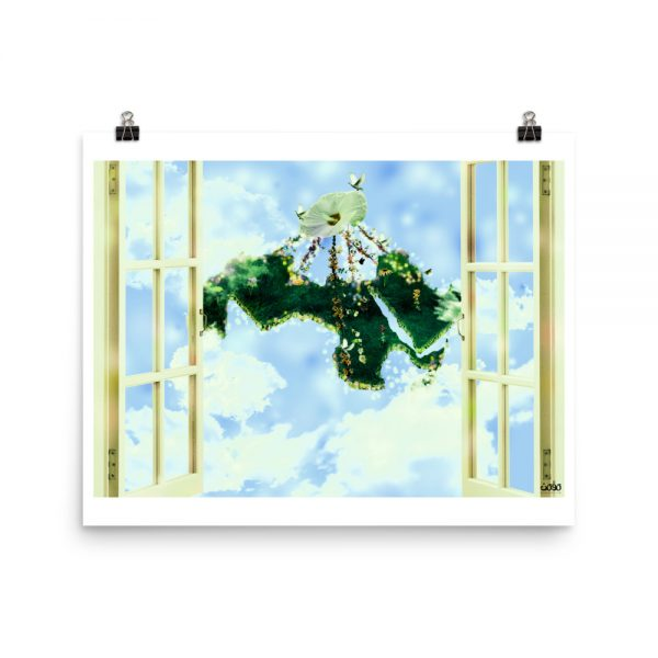peaceful arab world – Photo paper poster-momenarts