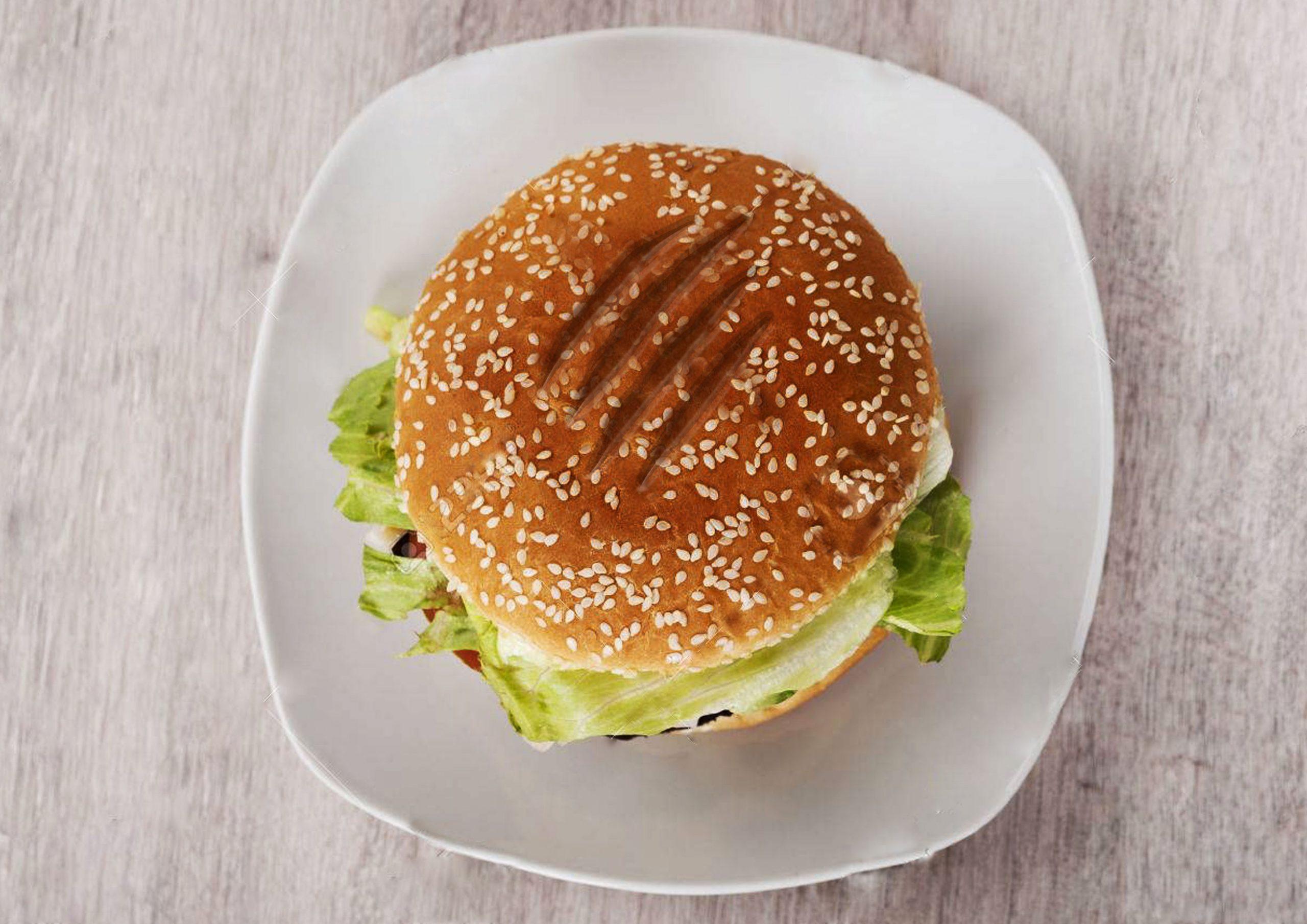 Firezilla Burger Stamp