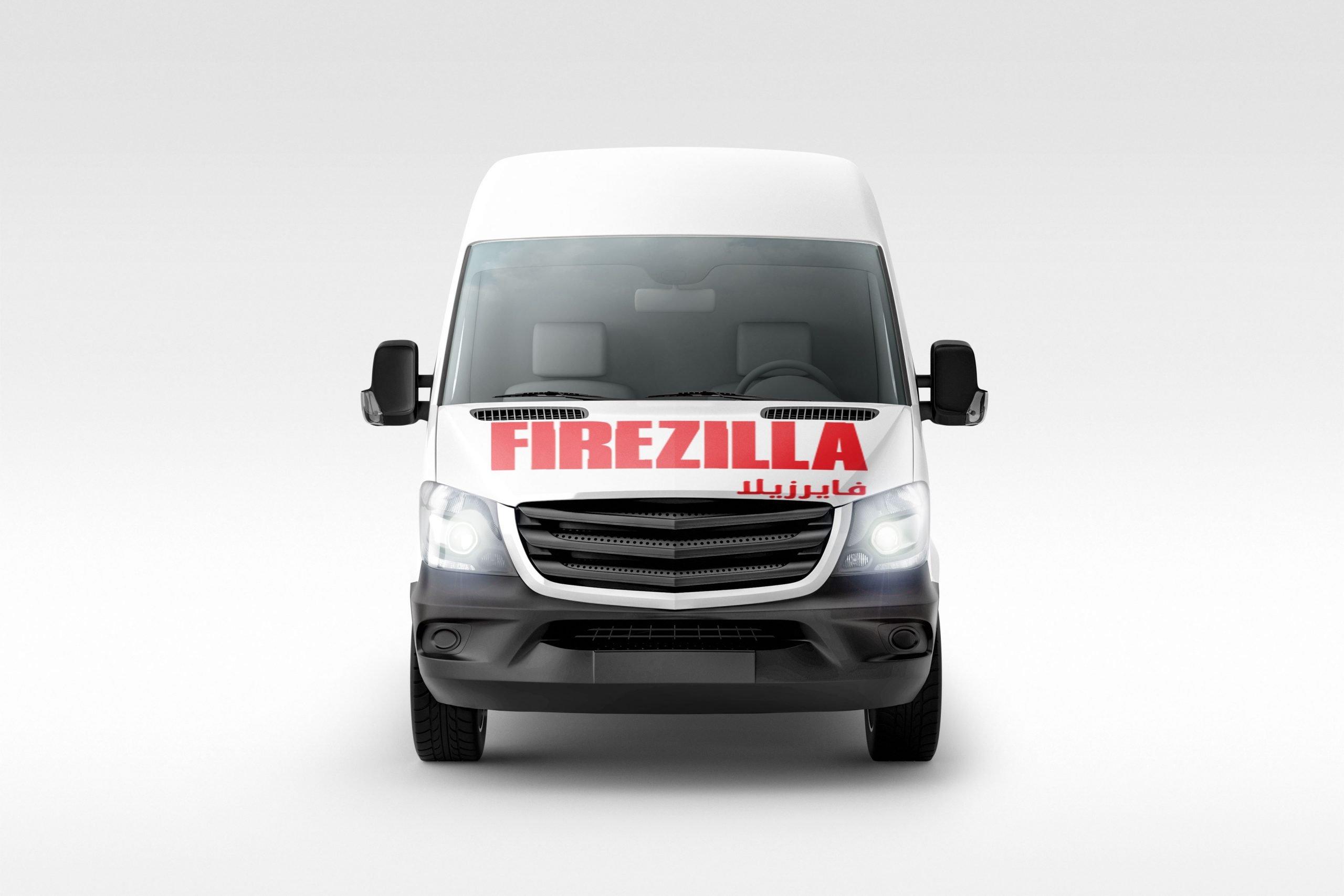 Firezilla Van 03 Front