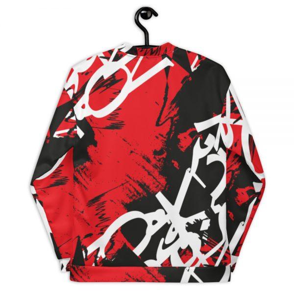 Abstract Typography -2-Unisex Bomber Jacket