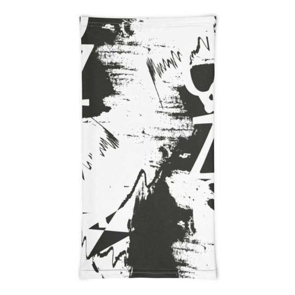 Abstract Typography -2 -Neck Gaiter