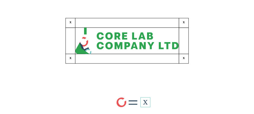 core lab company ltd logo construction